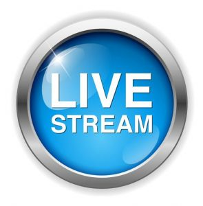 Click on the button to watch the live camera feed from the church.