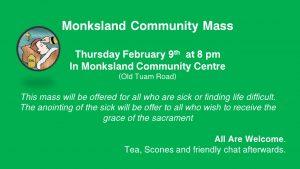 Monksland Community Mass February 2017