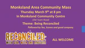 Monksland Community Mass March 2017