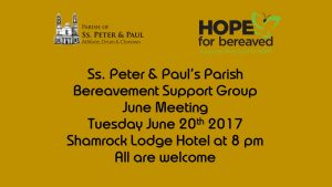 Bereavement Group JUne 2017
