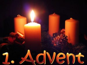 Advent week 1 wreath
