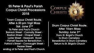 route Corpus Christi 2018
